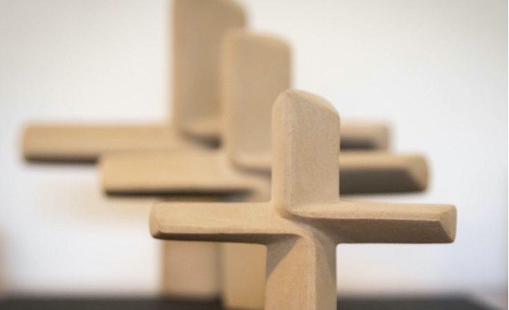 Sword of the Spirit 3D Cross Sculpted by Marianne Kantert